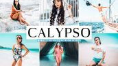 پریست لایت روم و Camera Raw و اکشن تم ساحل Calypso Mobile And Desktop Lightroom Presets